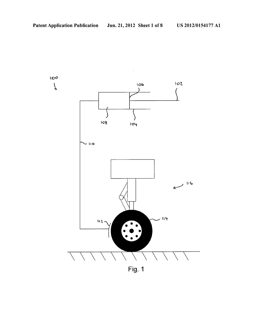 METHOD OF MONITORING AIRCRAFT BRAKE PERFORMANCE AND APPARATUS FOR     PERFORMING SUCH A METHOD - diagram, schematic, and image 02