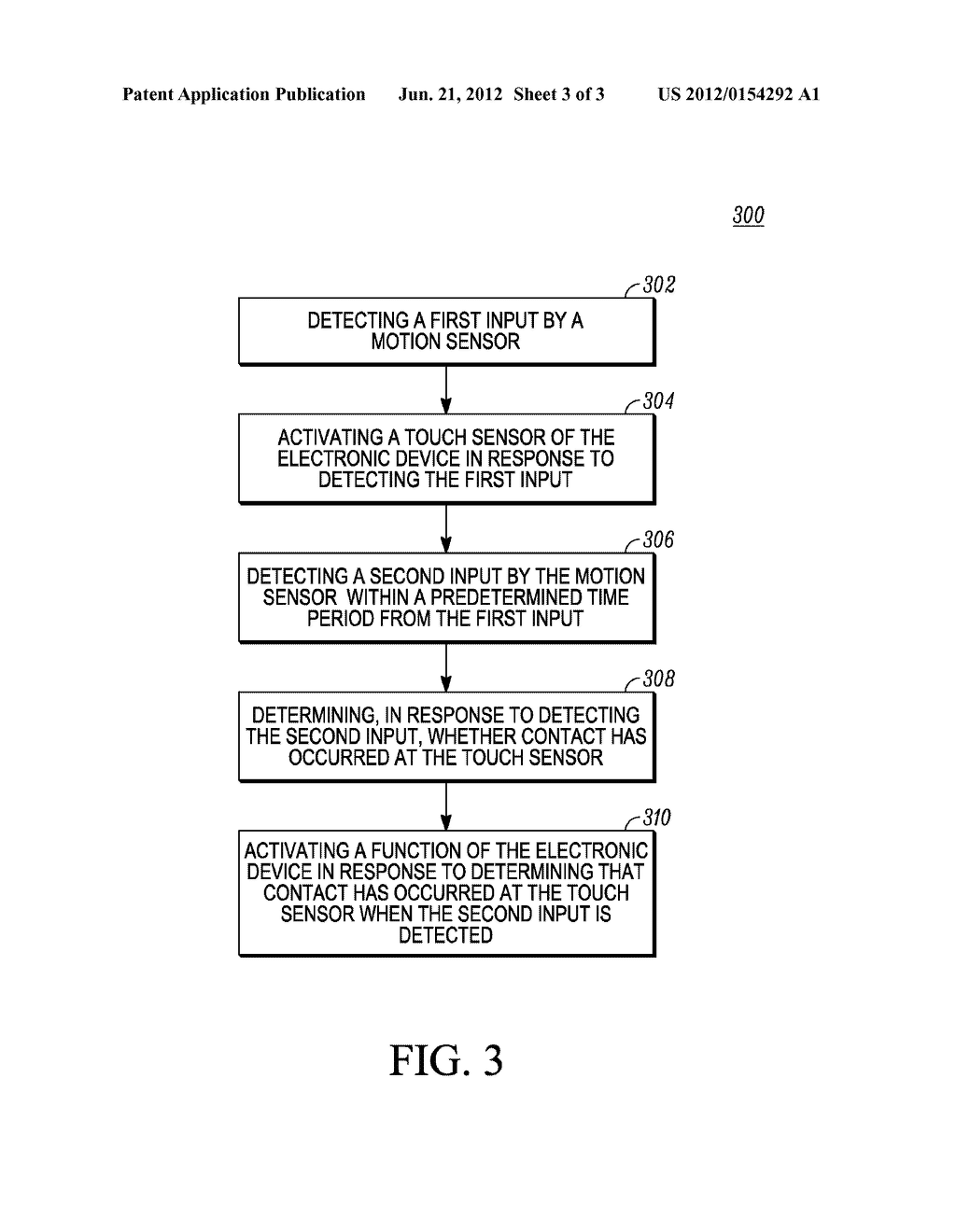 Method and Apparatus for Activating a Function of an Electronic Device - diagram, schematic, and image 04