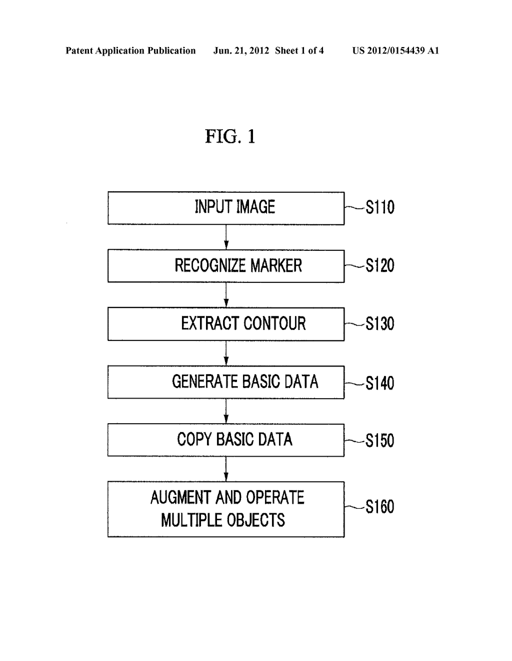 APPARATUS AND METHOD FOR OPERATING MULTIPLE OBJECT OF AUGMENTED REALITY     SYSTEM - diagram, schematic, and image 02