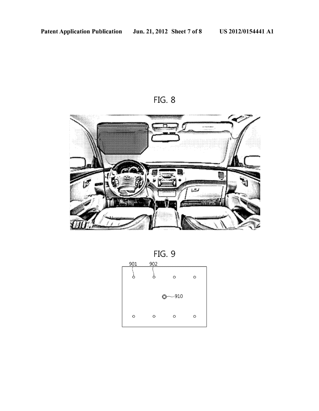 AUGMENTED REALITY DISPLAY SYSTEM AND METHOD FOR VEHICLE - diagram, schematic, and image 08