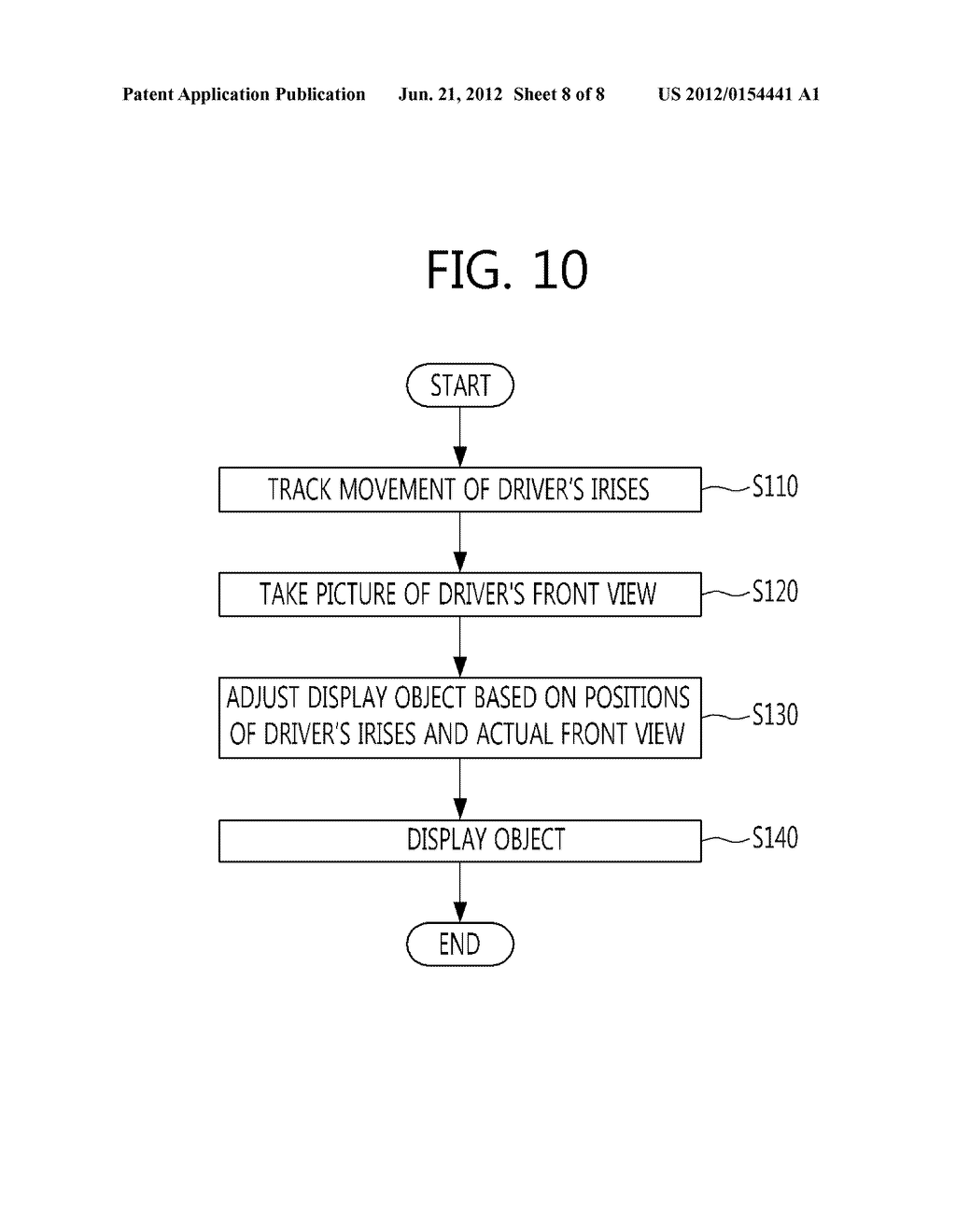 AUGMENTED REALITY DISPLAY SYSTEM AND METHOD FOR VEHICLE - diagram, schematic, and image 09