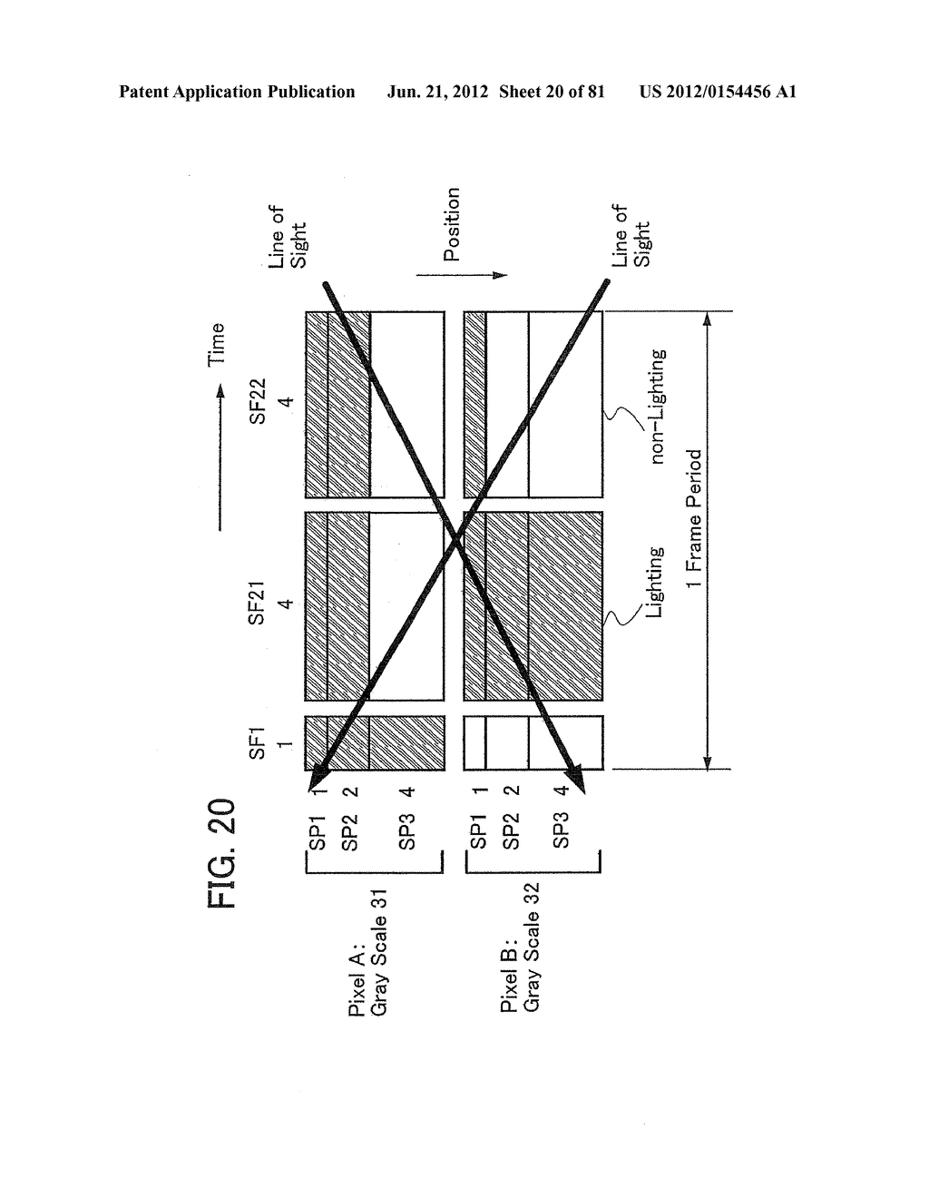 DISPLAY DEVICE, DRIVING METHOD OF DISPLAY DEVICE, AND ELECTRONIC APPLIANCE - diagram, schematic, and image 21