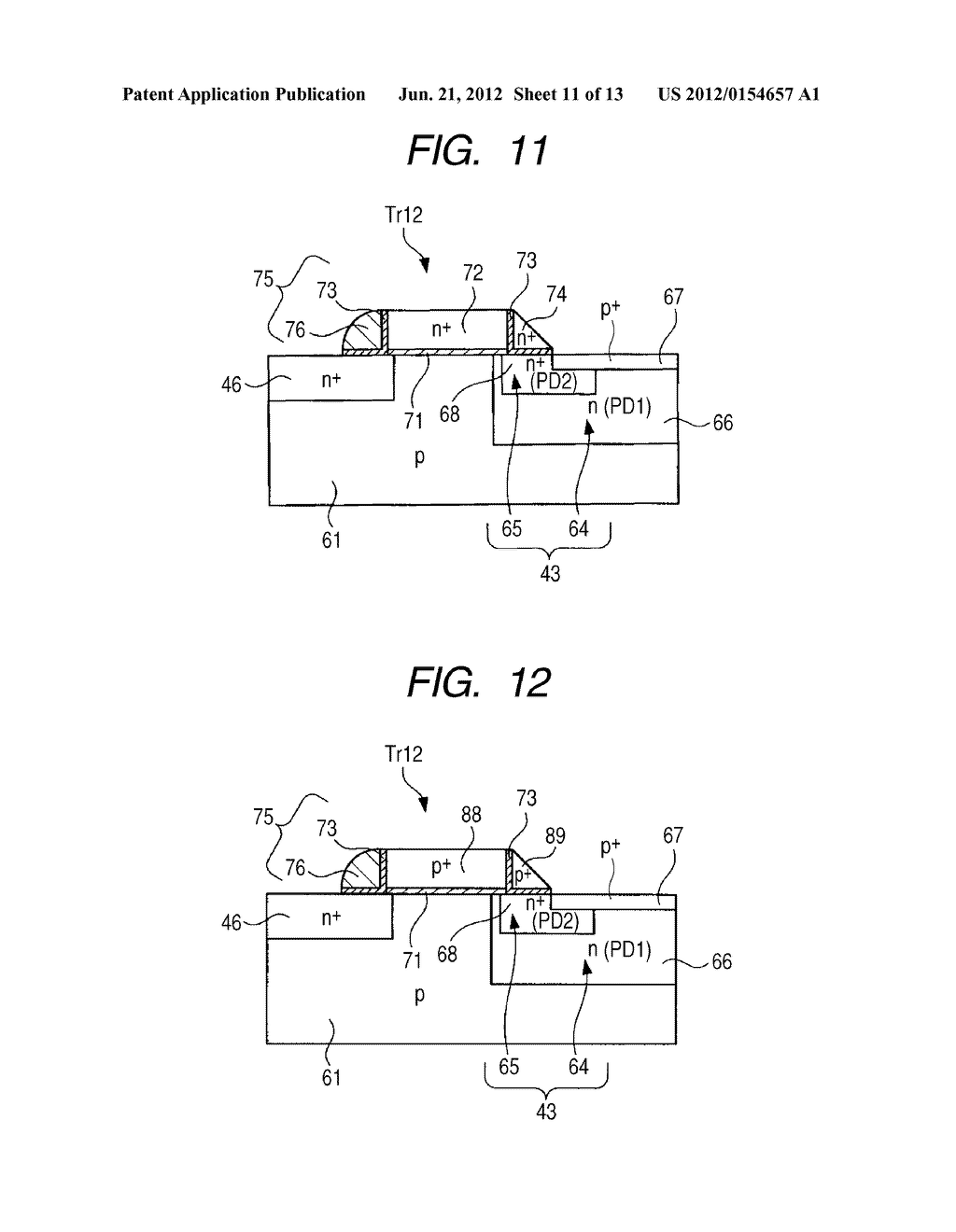 SOLID-STATE IMAGING DEVICE AND ELECTRONIC APPARATUS - diagram, schematic, and image 12
