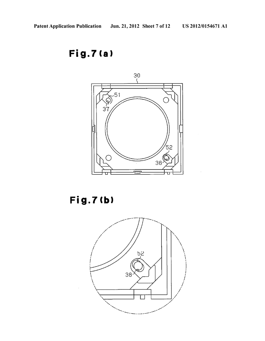 LENS DRIVE DEVICE, AND CAMERA MODULE AND CELLULAR PHONE EQUIPPED WITH LENS     DRIVE DEVICE - diagram, schematic, and image 08