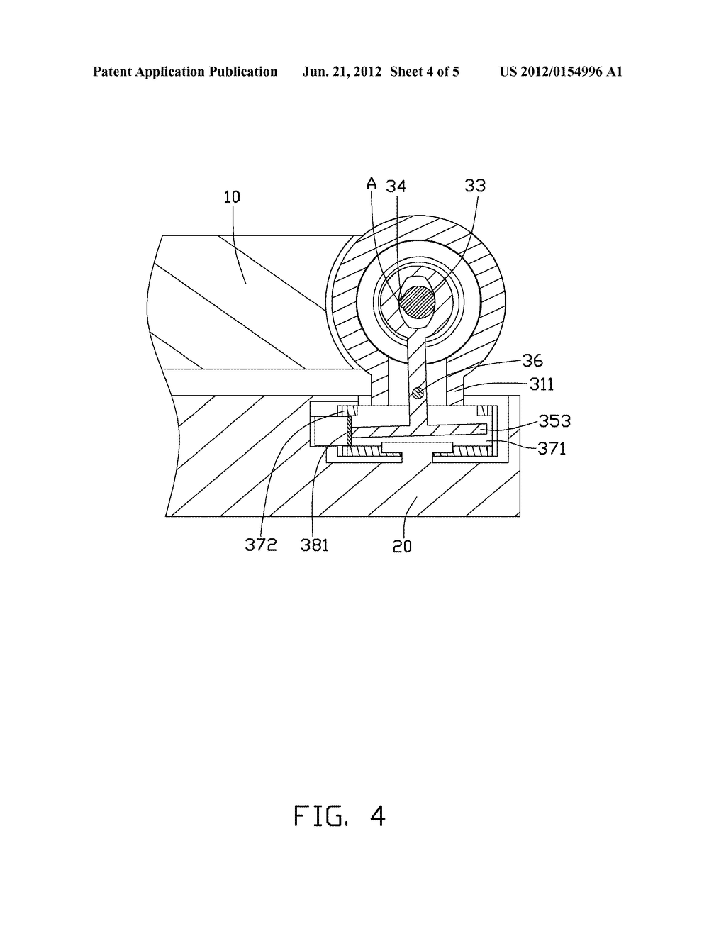 FOLDING ELECTRONIC DEVICE WITH SWIVEL FUNCTION - diagram, schematic, and image 05