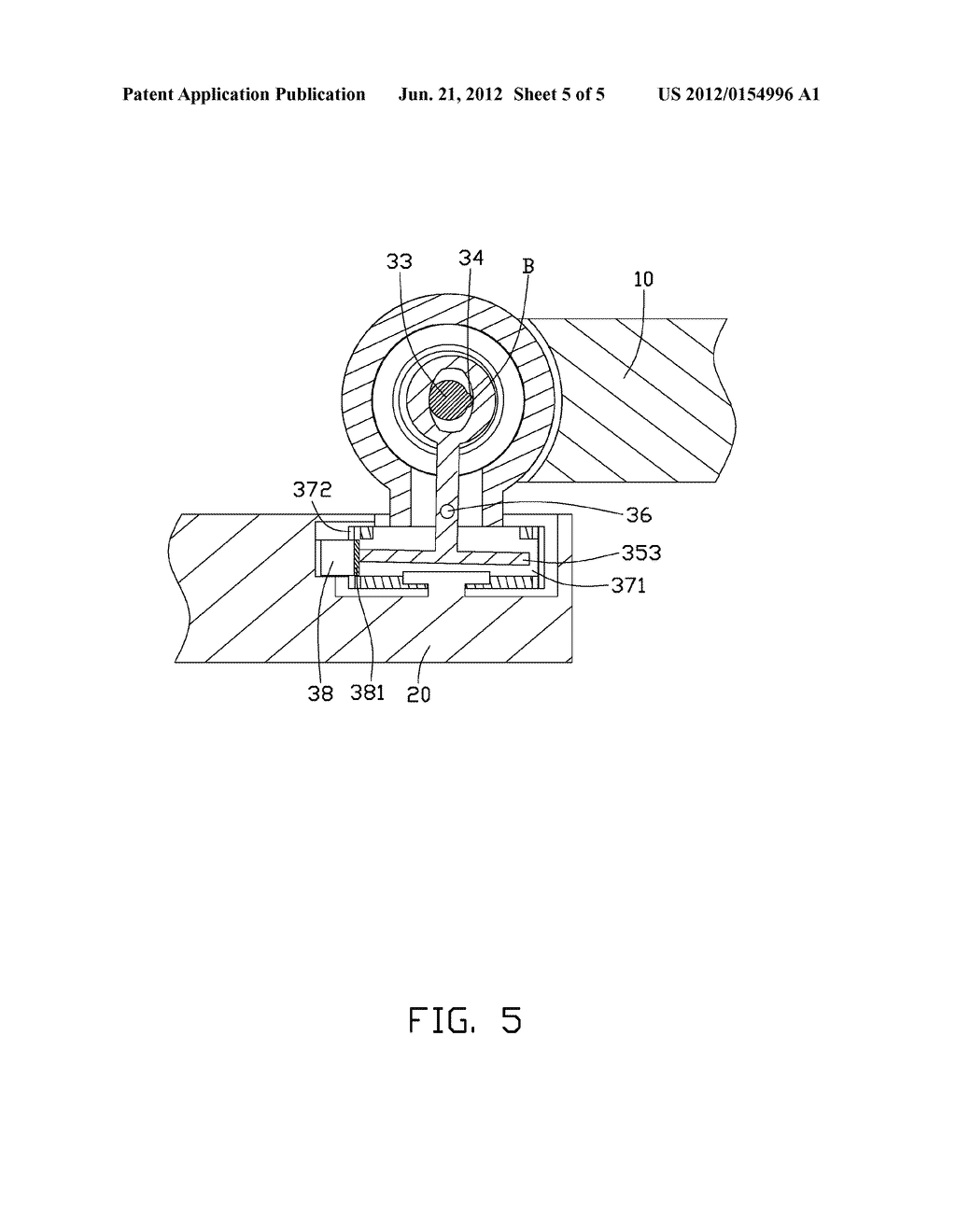 FOLDING ELECTRONIC DEVICE WITH SWIVEL FUNCTION - diagram, schematic, and image 06