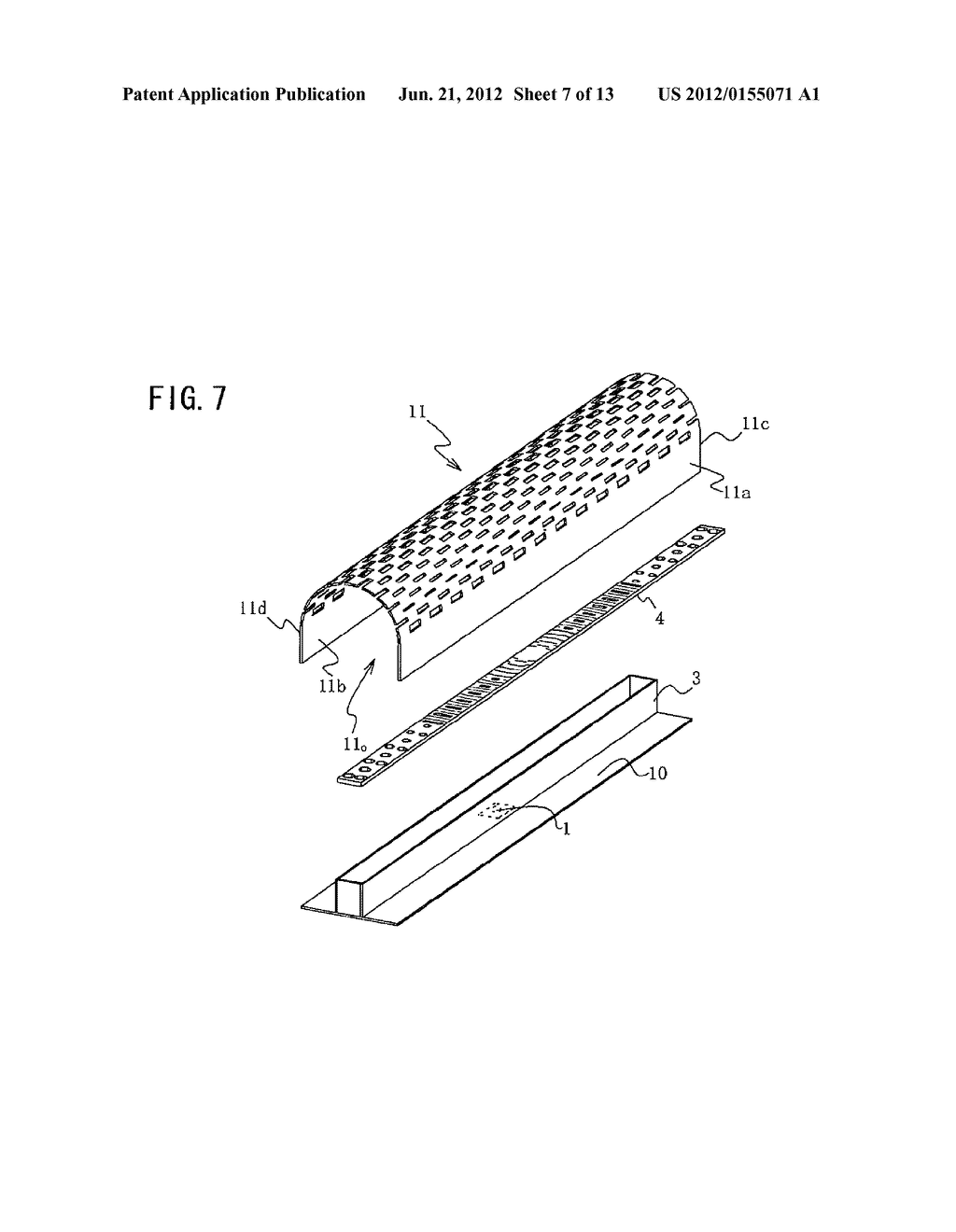 SURFACE ILLUMINATION METHOD USING POINT LIGHT SOURCE, LINEAR LIGHT SOURCE     DEVICE, AND SURFACE ILLUMINATION DEVICE USING LINEAR LIGHT SOURCE DEVICE - diagram, schematic, and image 08