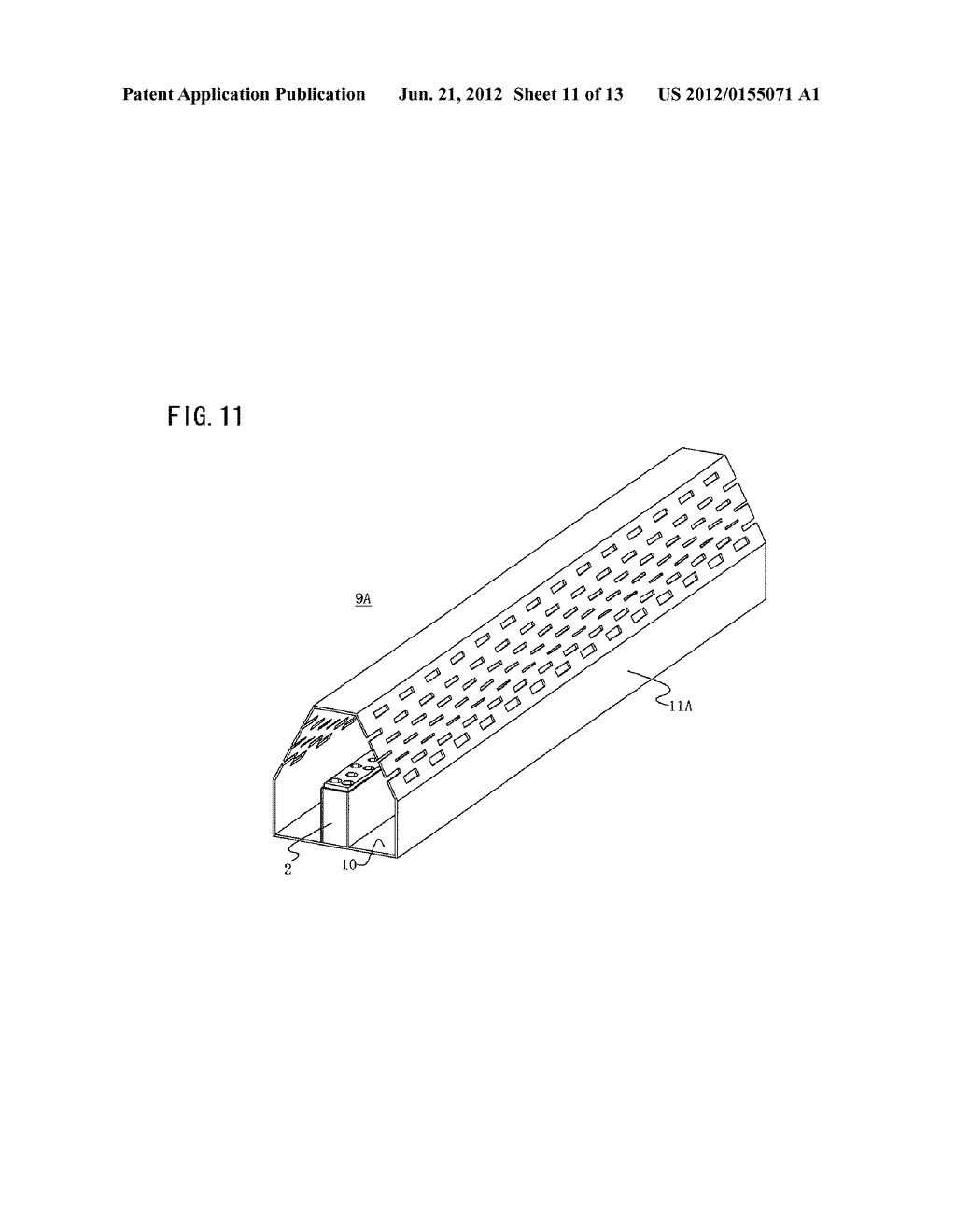 SURFACE ILLUMINATION METHOD USING POINT LIGHT SOURCE, LINEAR LIGHT SOURCE     DEVICE, AND SURFACE ILLUMINATION DEVICE USING LINEAR LIGHT SOURCE DEVICE - diagram, schematic, and image 12