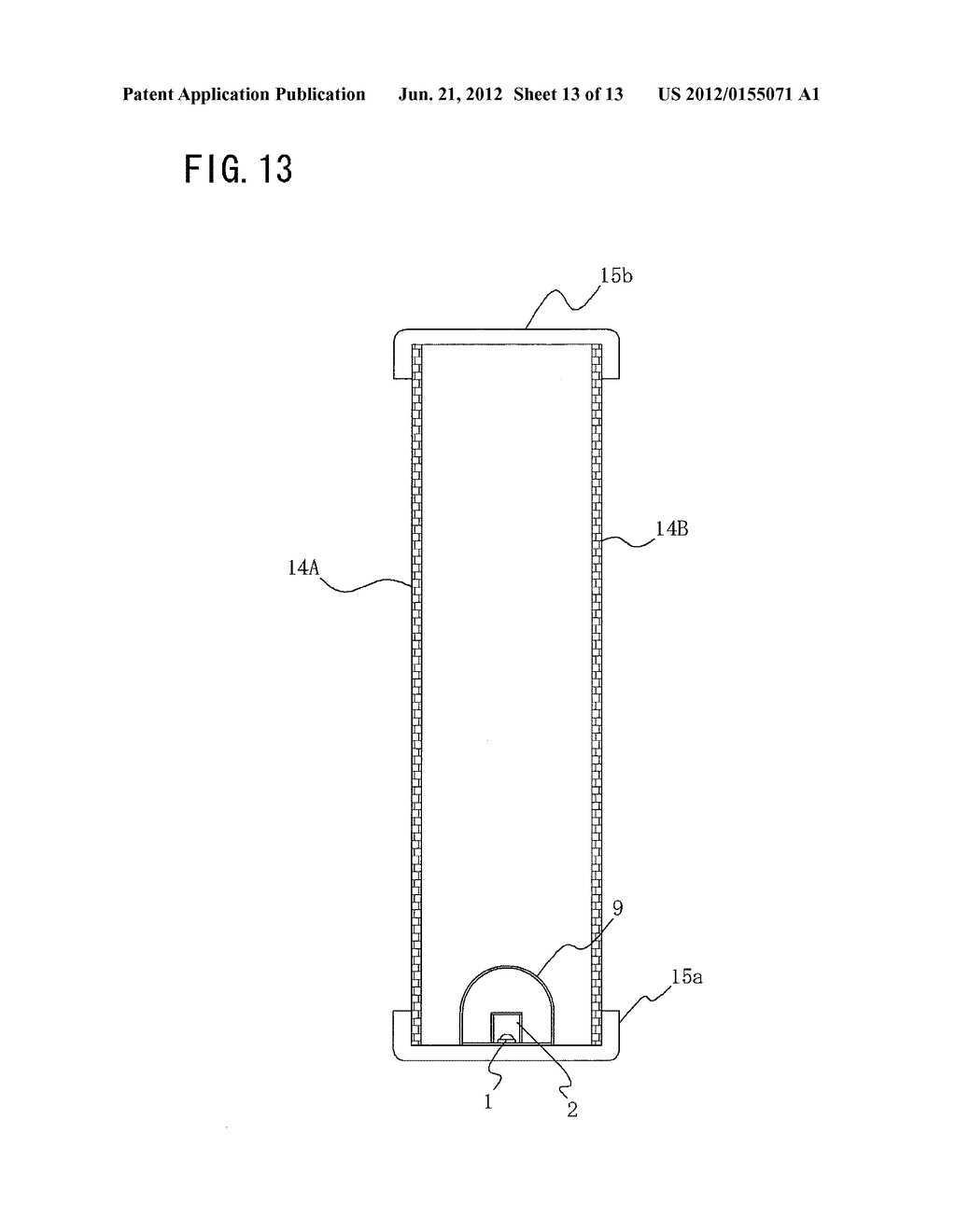 SURFACE ILLUMINATION METHOD USING POINT LIGHT SOURCE, LINEAR LIGHT SOURCE     DEVICE, AND SURFACE ILLUMINATION DEVICE USING LINEAR LIGHT SOURCE DEVICE - diagram, schematic, and image 14