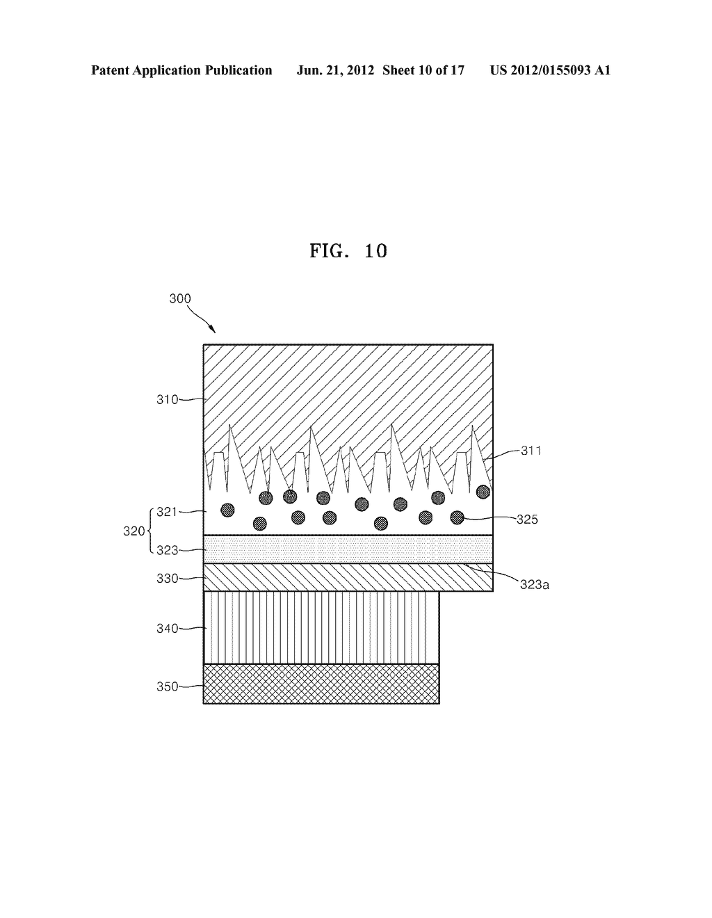SUBSTRATE FOR SURFACE LIGHT EMITTING DEVICE AND METHOD OF MANUFACTURING     THE SUBSTRATE, SURFACE LIGHT EMITTING DEVICE, LIGHTING APPARATUS, AND     BACKLIGHT INCLUDING THE SAME - diagram, schematic, and image 11
