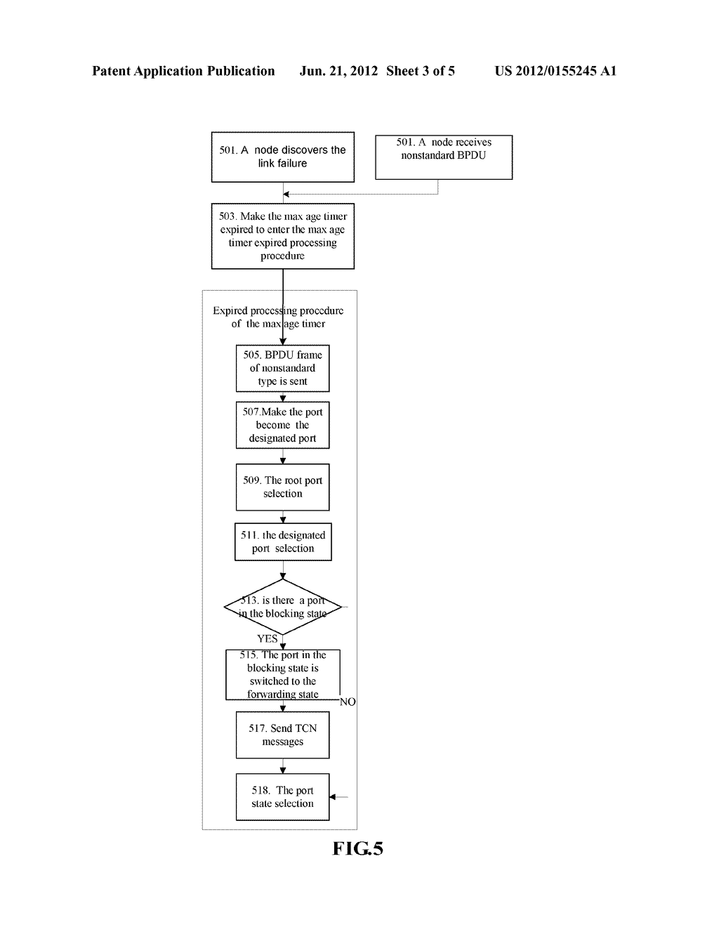 Method and System for Rebuilding Single Ring Network Topology - diagram, schematic, and image 04