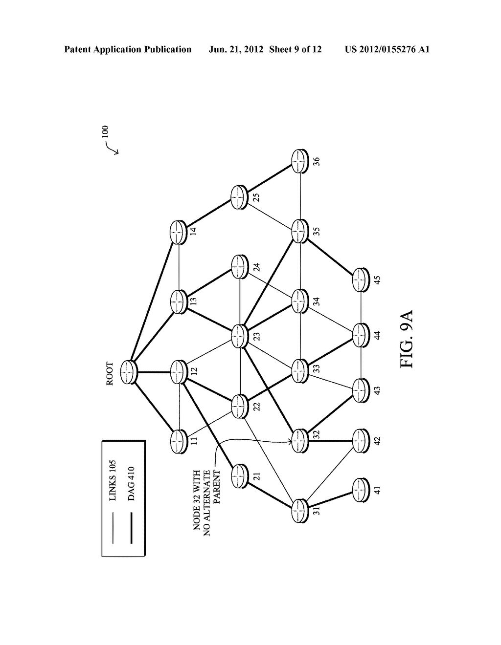 Dynamic Expelling of Child Nodes in Directed Acyclic Graphs in a Computer     Network - diagram, schematic, and image 10