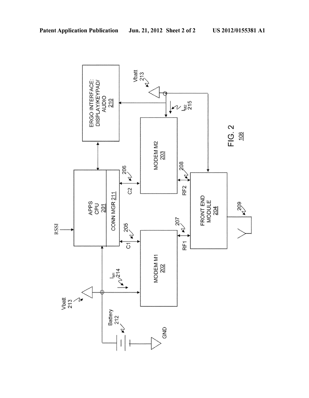 METHOD AND APPARATUS FOR USING A WIRELESS DEVICE WITH MULTIPLE RADIOS - diagram, schematic, and image 03