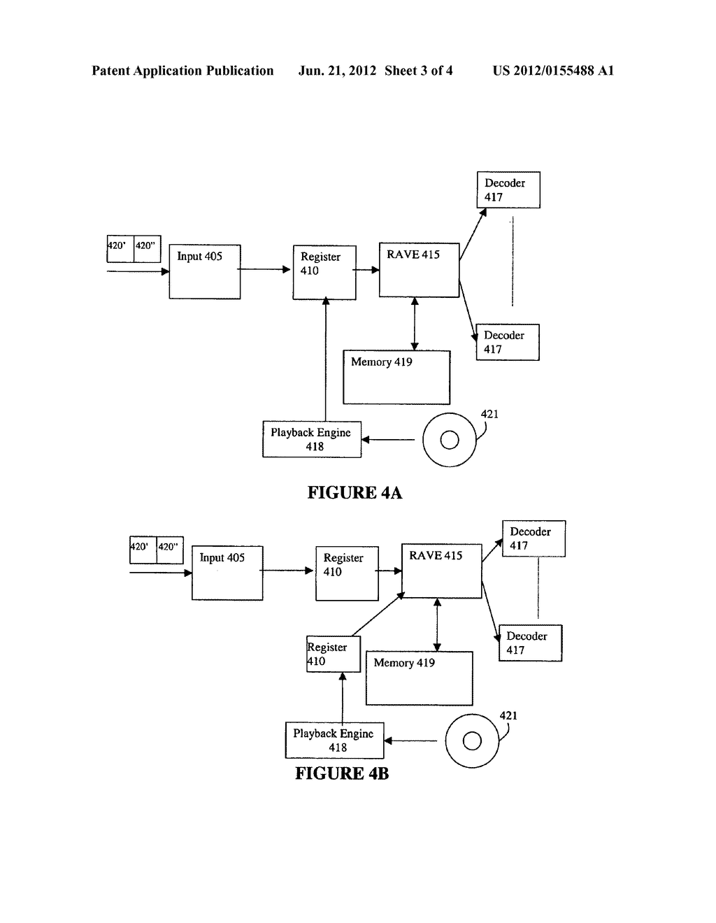 System and Method for Demultiplexing Different Stream Types in a     Programmable Transport Demultiplexer - diagram, schematic, and image 04