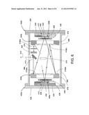 Solid-state laser with multi-pass beam delivery optics diagram and image