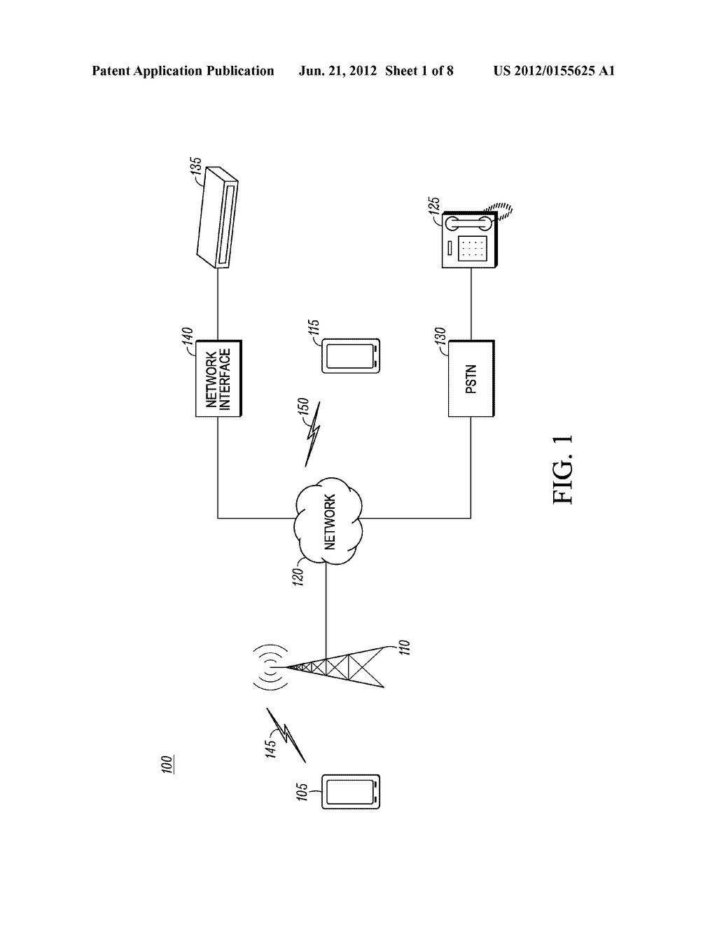 Method and Apparatus for Displaying a Customized Caller Line     Identification - diagram, schematic, and image 02
