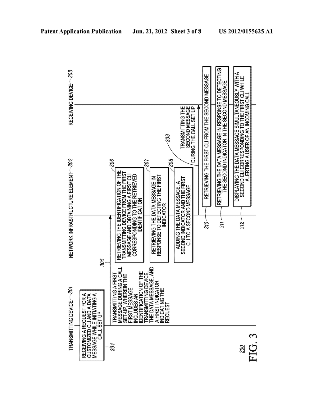 Method and Apparatus for Displaying a Customized Caller Line     Identification - diagram, schematic, and image 04