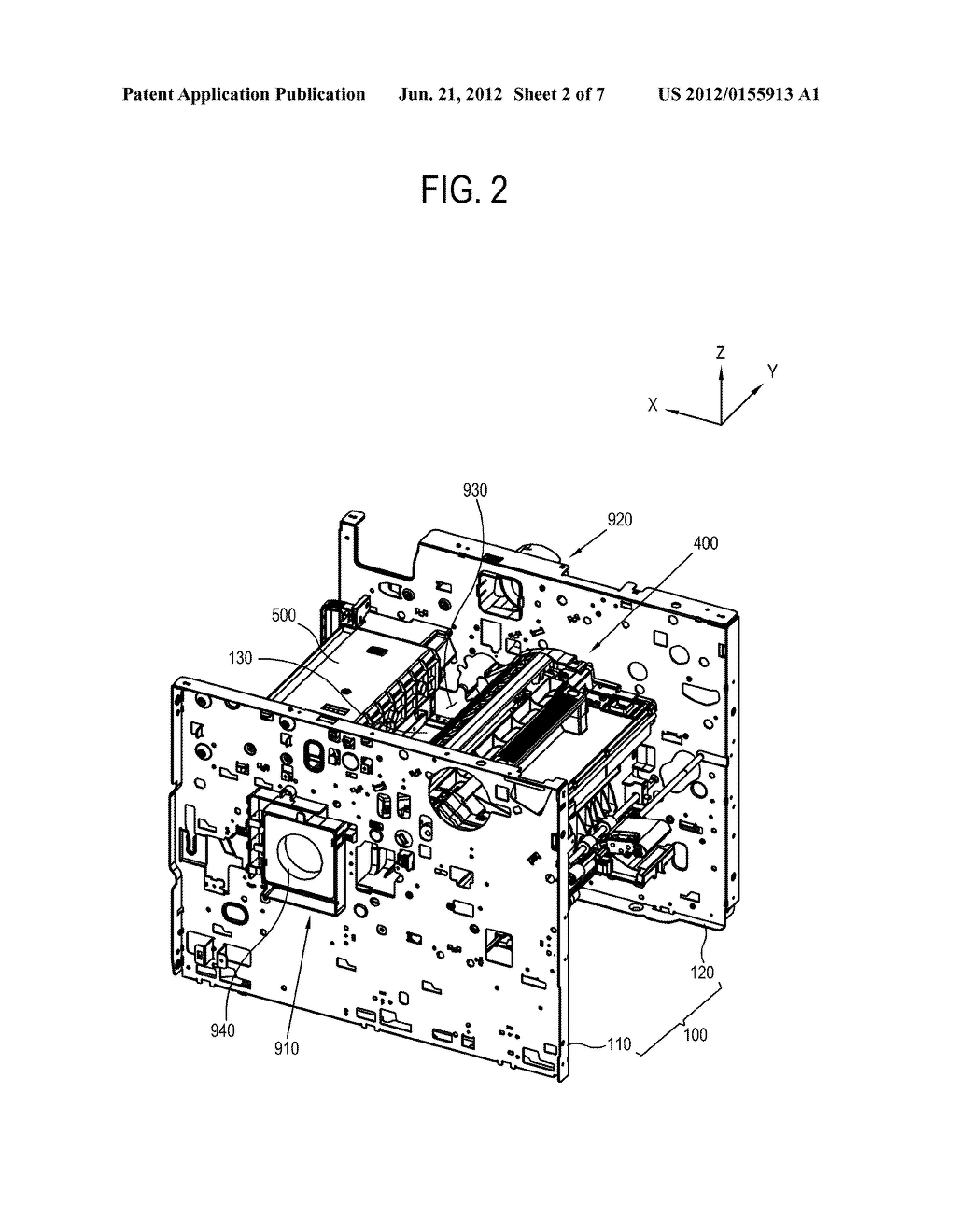 IMAGE FORMING APPARATUS WITH GUIDE MEMBER TO GUIDE AIR - diagram, schematic, and image 03