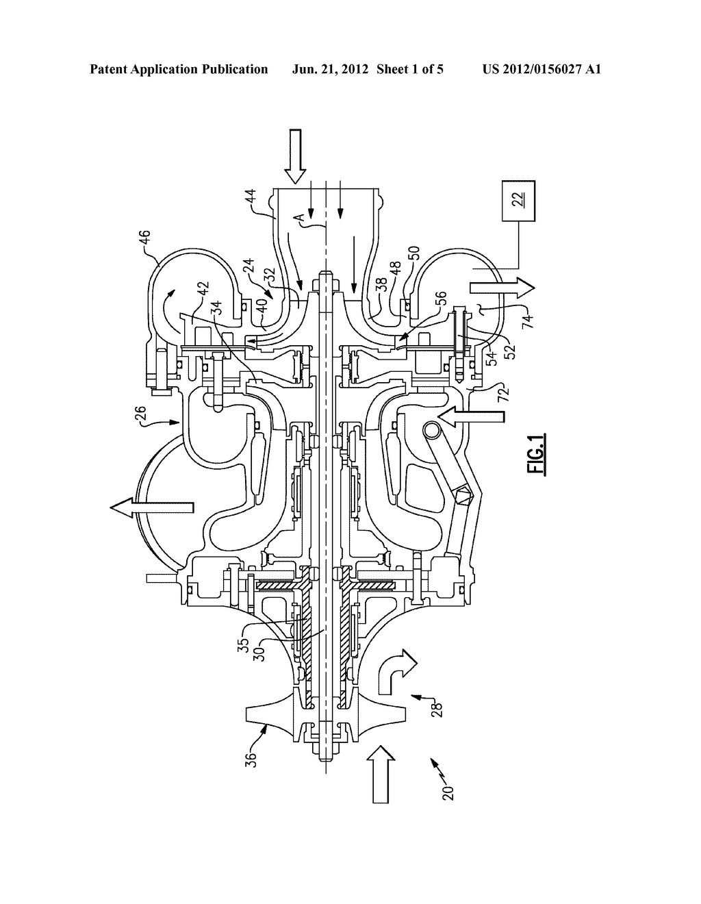 air cycle machine compressor diffuser   diagram  schematic  and imageair cycle machine compressor diffuser   diagram  schematic  and image