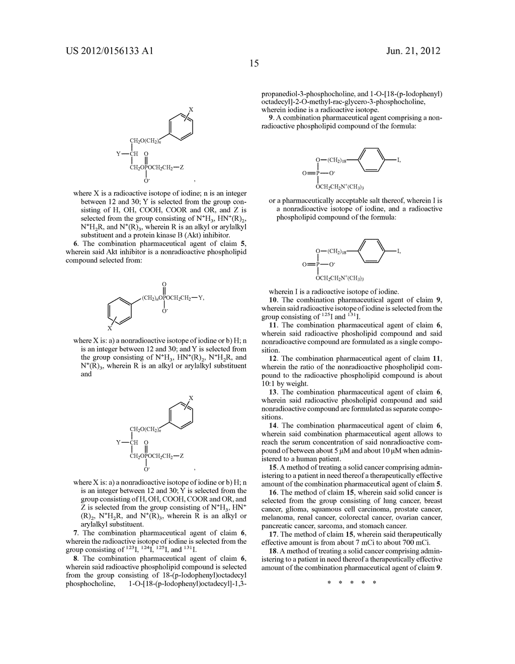 NON-RADIOACTIVE PHOSPHOLIPID COMPOUNDS, COMPOSITIONS, AND METHODS OF USE - diagram, schematic, and image 36
