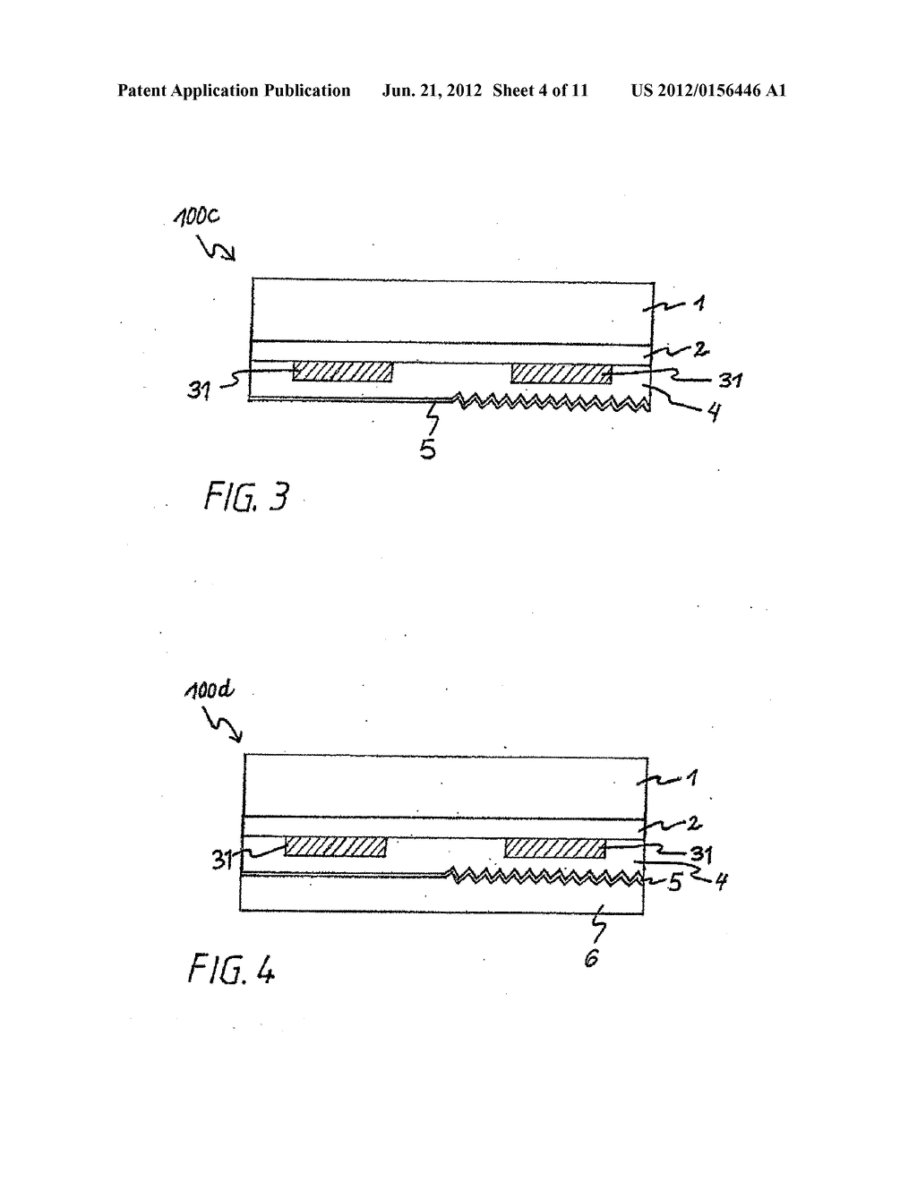 Method for the Production of a Multilayer Element, and Multilayer Element - diagram, schematic, and image 05