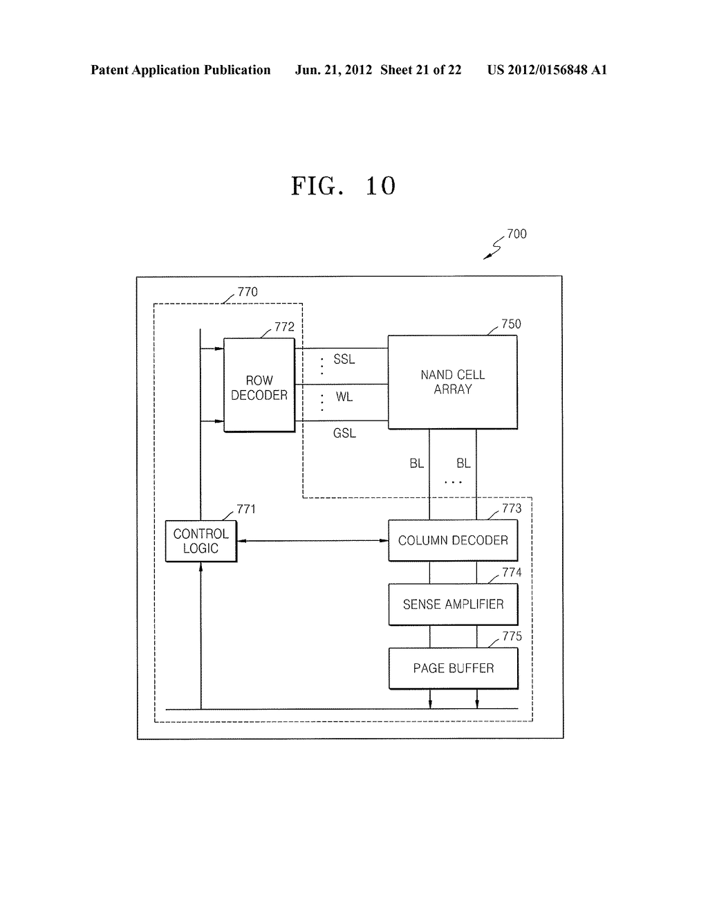 METHOD OF MANUFACTURING NON-VOLATILE MEMORY DEVICE AND CONTACT PLUGS OF     SEMICONDUCTOR DEVICE - diagram, schematic, and image 22