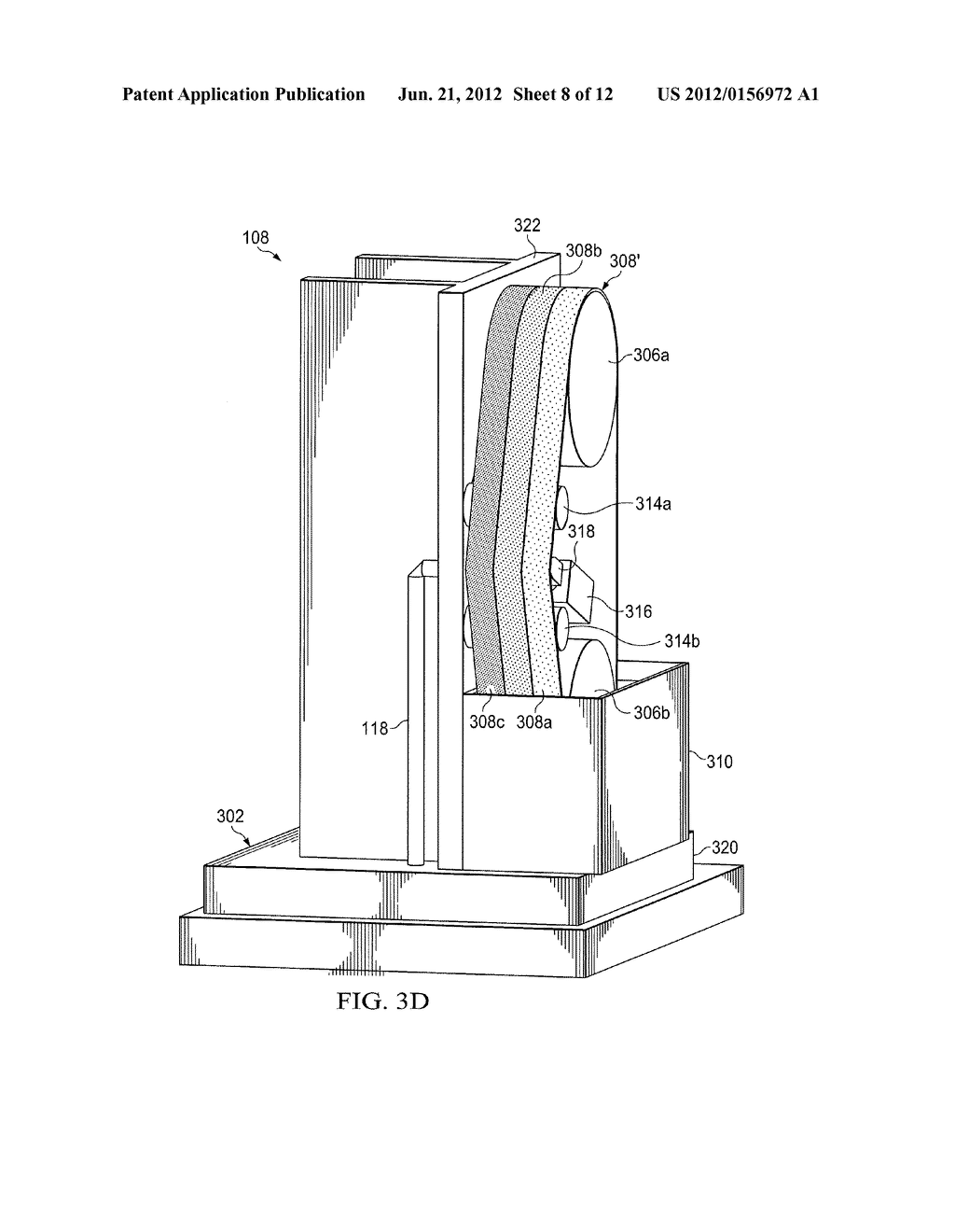 GLASS EDGE FINISH SYSTEM, BELT ASSEMBLY, AND METHOD FOR USING SAME - diagram, schematic, and image 09