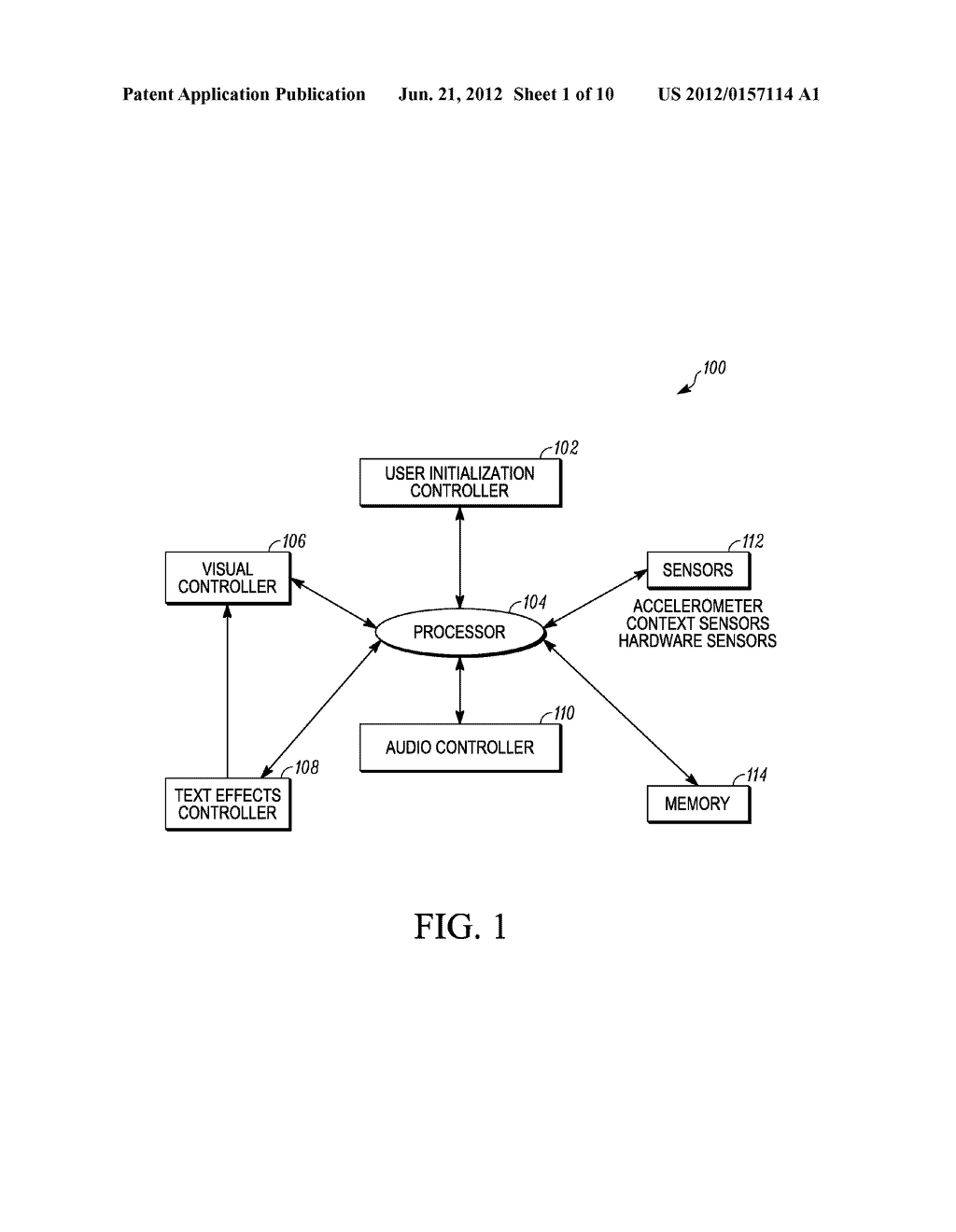 SYSTEM AND METHOD FOR ADAPTING AN ATTRIBUTE MAGNIFICATION FOR A MOBILE     COMMUNICATION DEVICE - diagram, schematic, and image 02