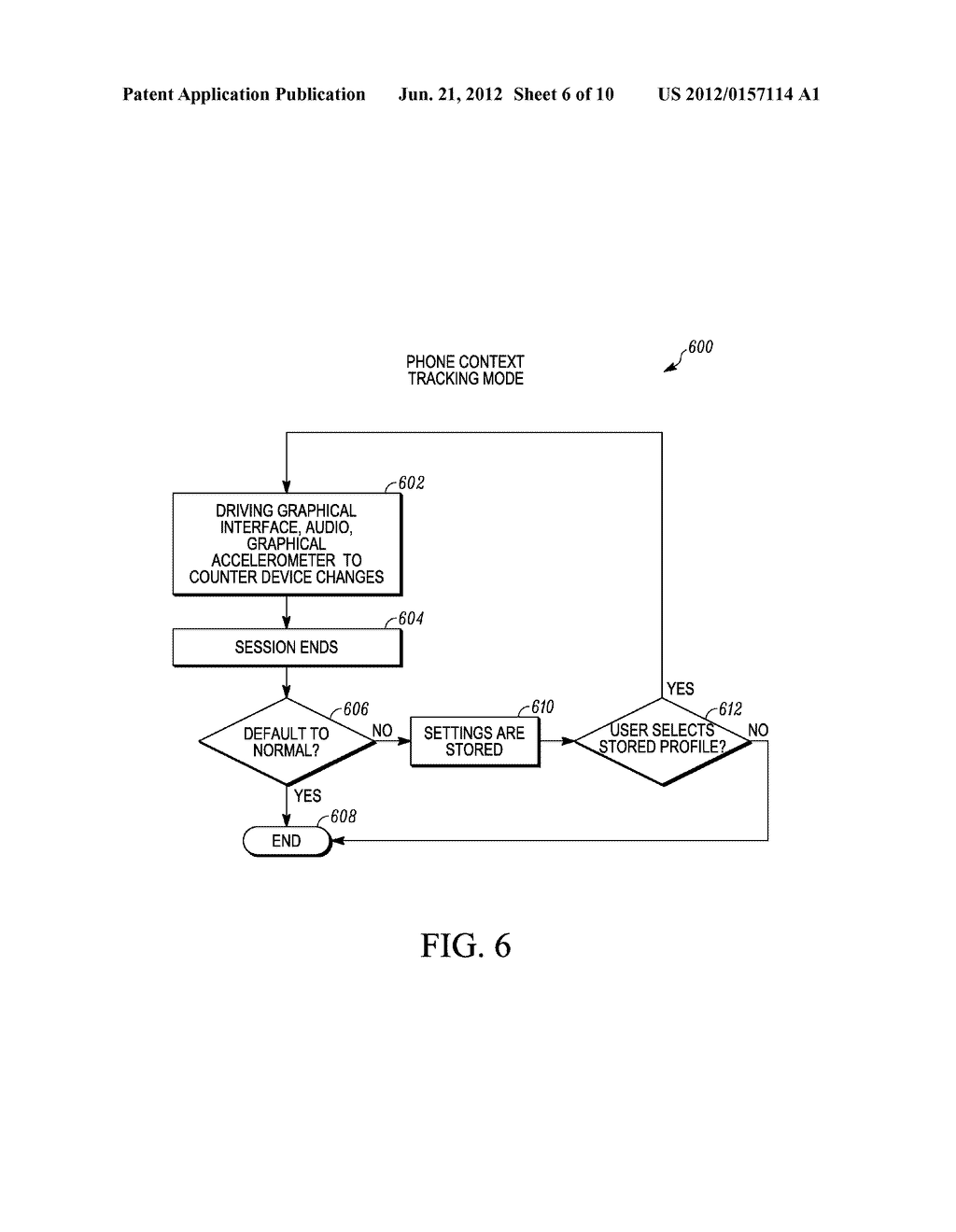 SYSTEM AND METHOD FOR ADAPTING AN ATTRIBUTE MAGNIFICATION FOR A MOBILE     COMMUNICATION DEVICE - diagram, schematic, and image 07