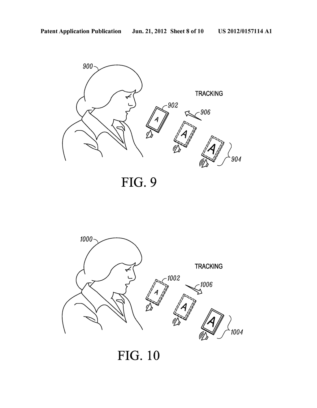 SYSTEM AND METHOD FOR ADAPTING AN ATTRIBUTE MAGNIFICATION FOR A MOBILE     COMMUNICATION DEVICE - diagram, schematic, and image 09
