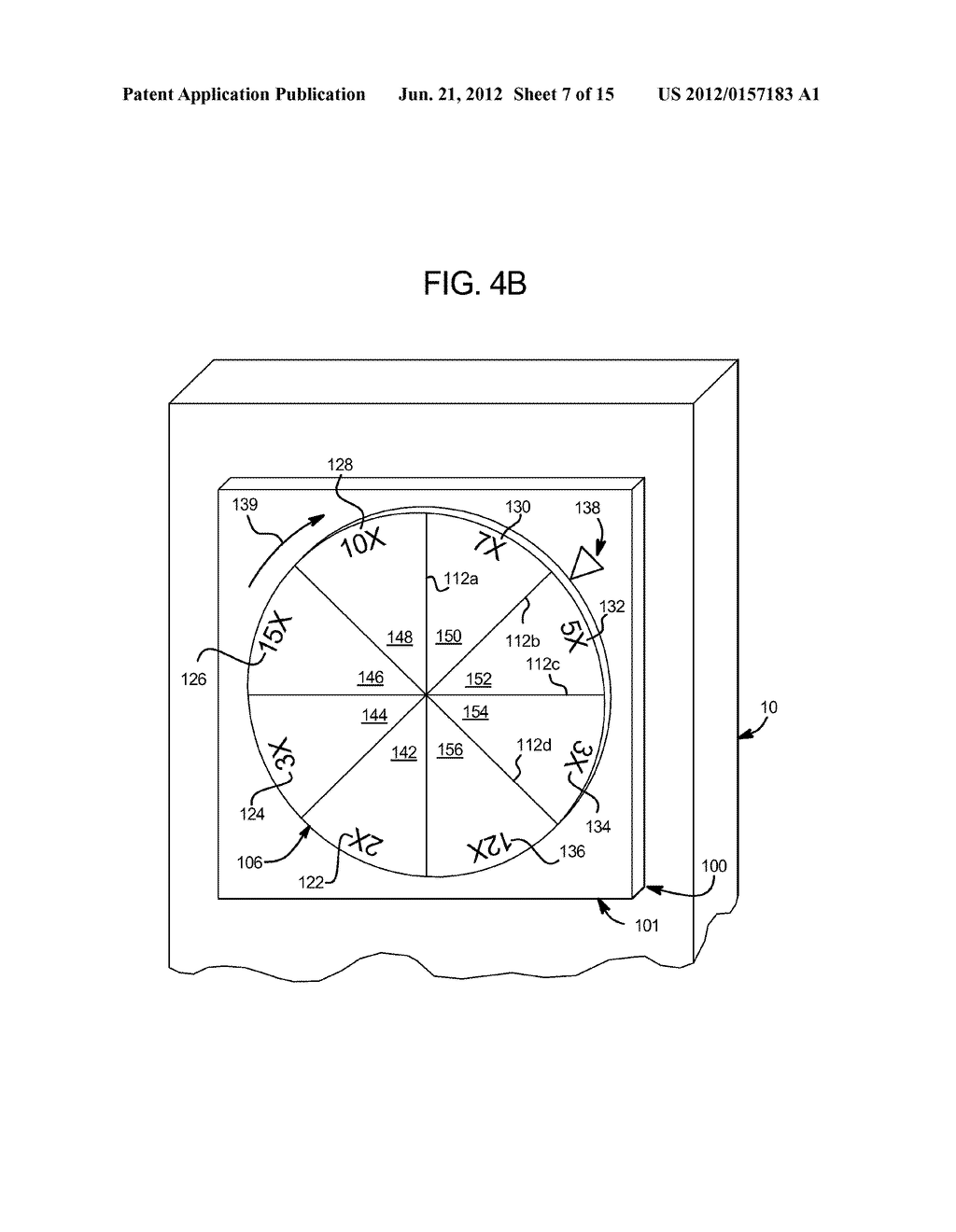 GAMING SYSTEM HAVING DISPLAY DEVICE WITH CHANGEABLE WHEEL - diagram, schematic, and image 08