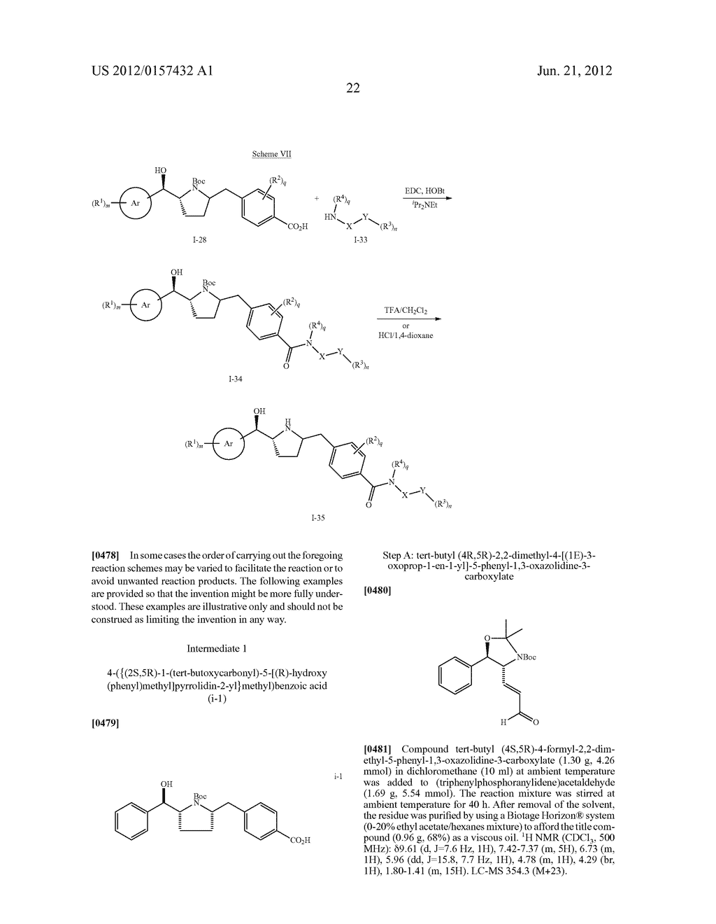NOVEL PYRROLIDINE DERIVED BETA 3 ADRENERGIC RECEPTOR AGONISTS - diagram, schematic, and image 23