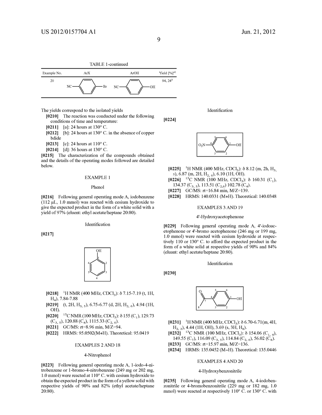 Method for the Hydroxylation of Halogenated Aryl Compounds - diagram, schematic, and image 10