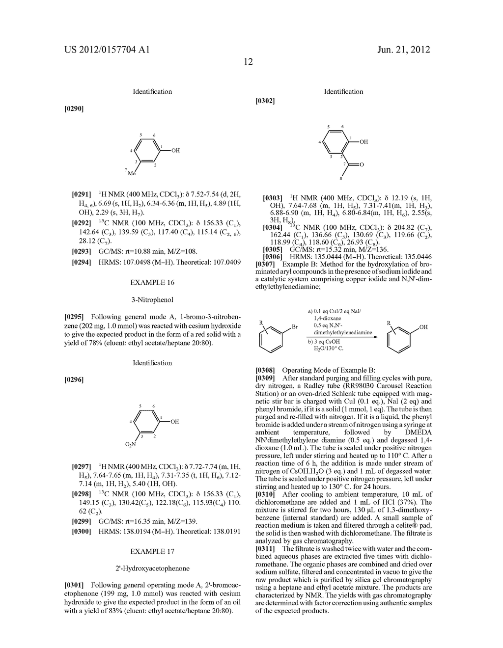 Method for the Hydroxylation of Halogenated Aryl Compounds - diagram, schematic, and image 13