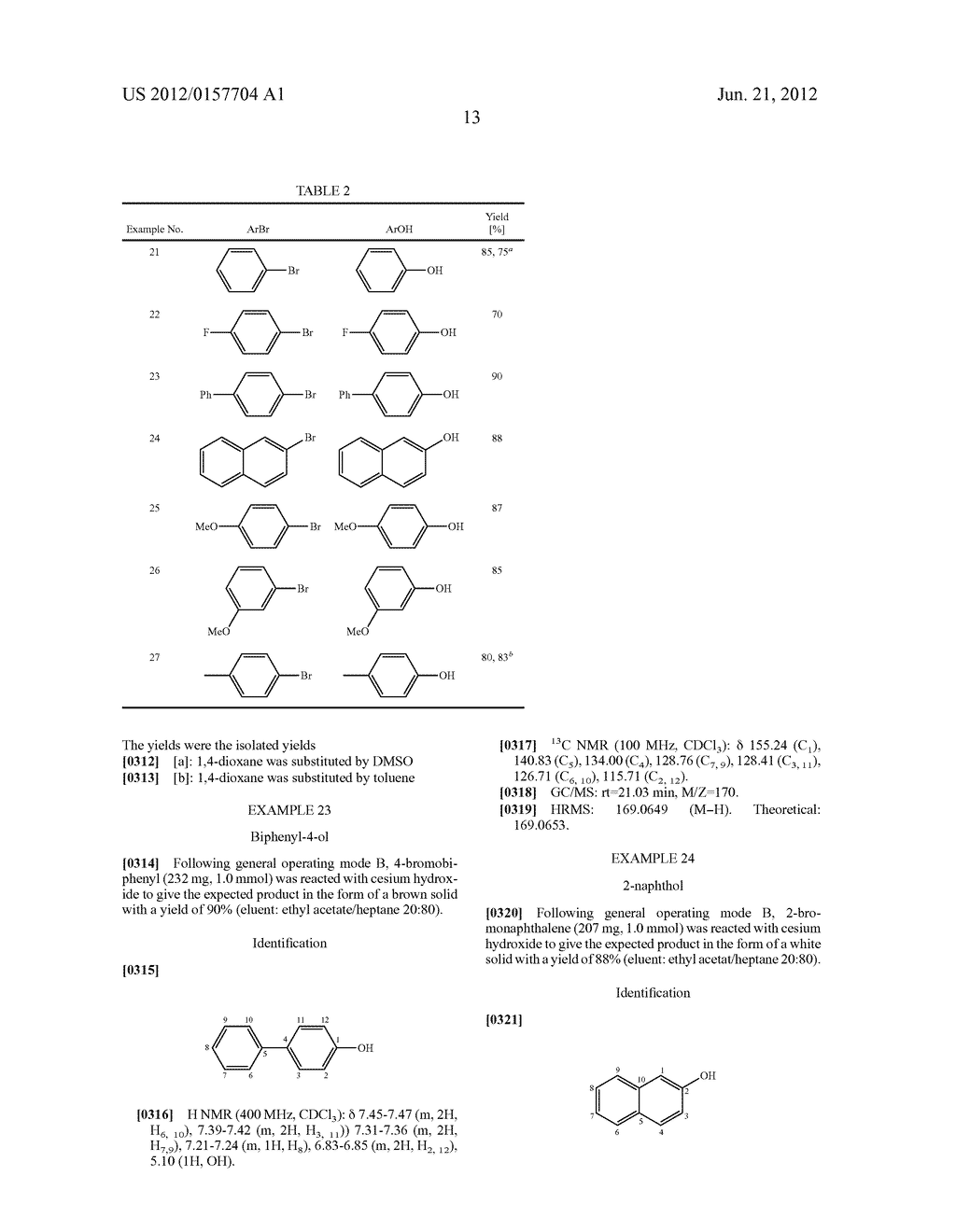 Method for the Hydroxylation of Halogenated Aryl Compounds - diagram, schematic, and image 14