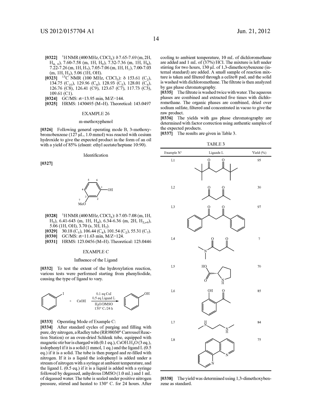 Method for the Hydroxylation of Halogenated Aryl Compounds - diagram, schematic, and image 15
