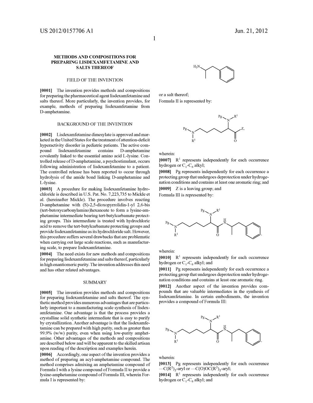 Methods and Compositions for Preparing Lisdexamfetamine and Salts Thereof - diagram, schematic, and image 02
