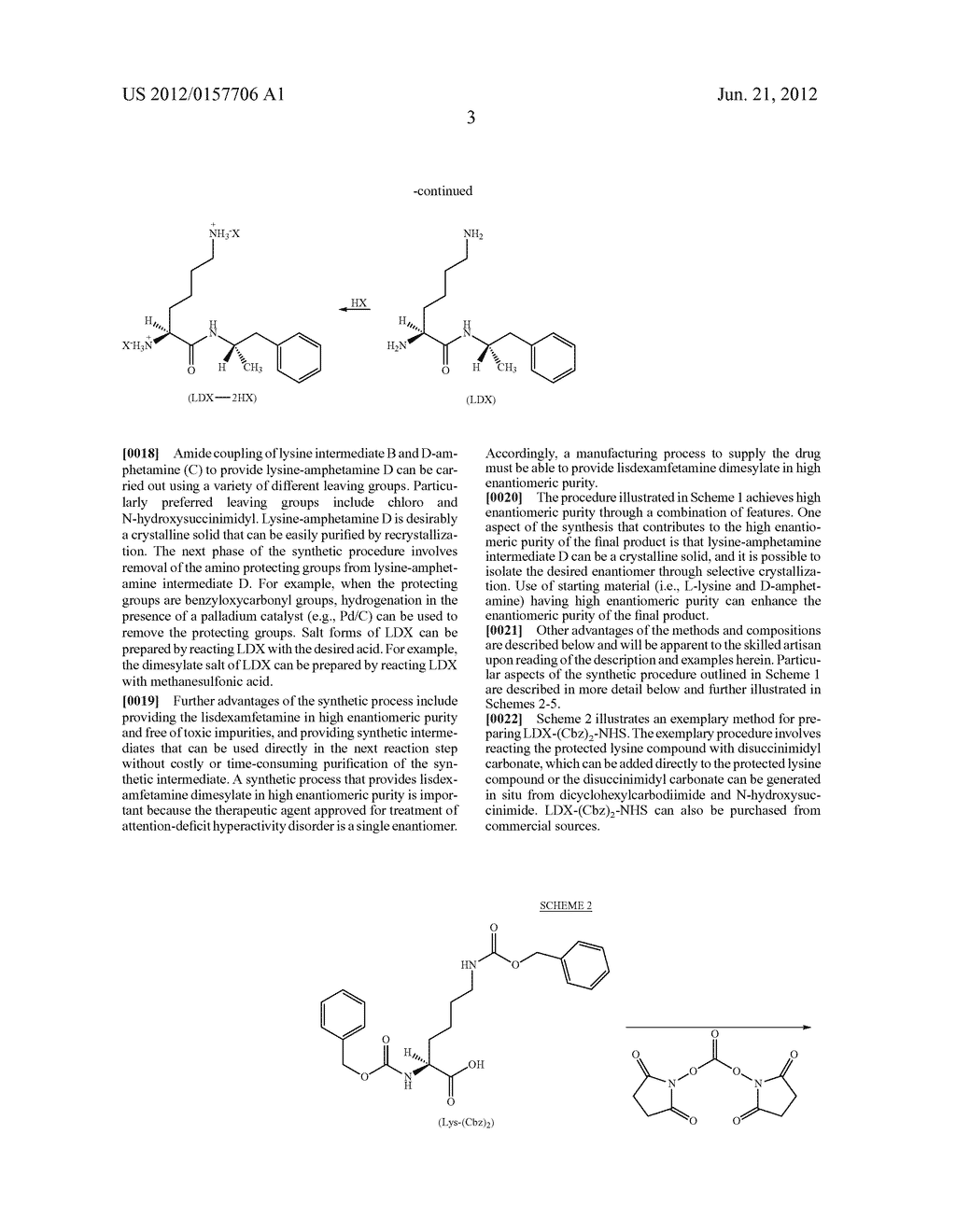 Methods and Compositions for Preparing Lisdexamfetamine and Salts Thereof - diagram, schematic, and image 04