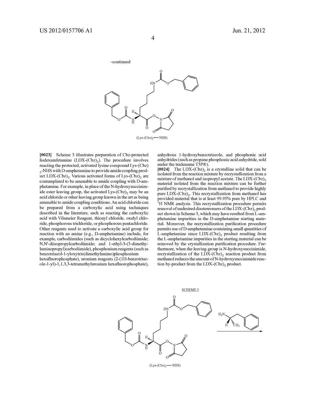 Methods and Compositions for Preparing Lisdexamfetamine and Salts Thereof - diagram, schematic, and image 05