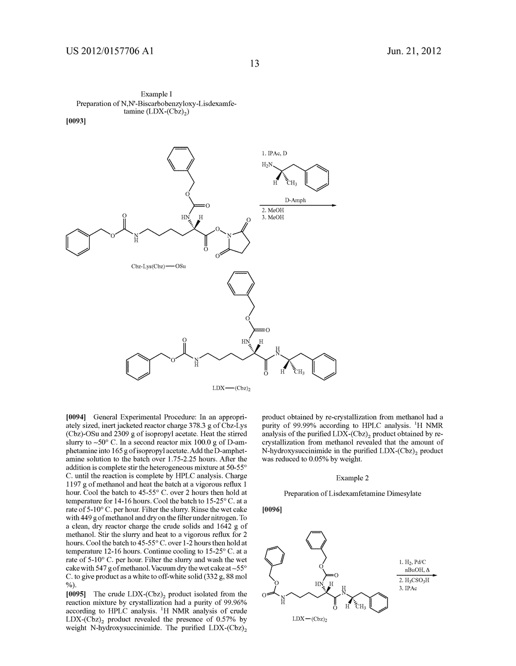 Methods and Compositions for Preparing Lisdexamfetamine and Salts Thereof - diagram, schematic, and image 14