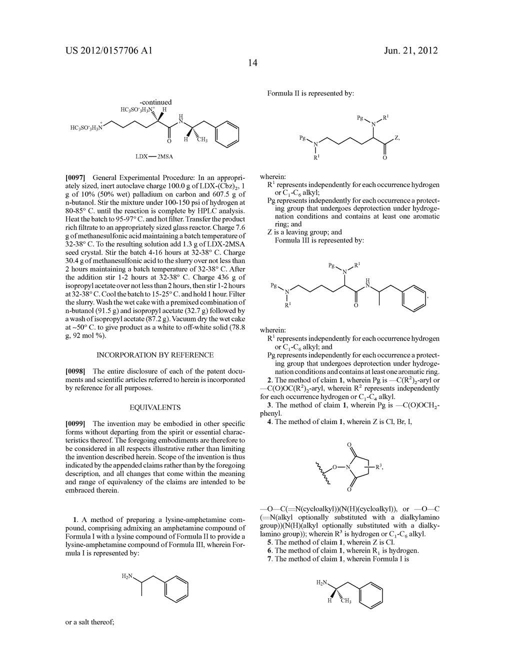 Methods and Compositions for Preparing Lisdexamfetamine and Salts Thereof - diagram, schematic, and image 15