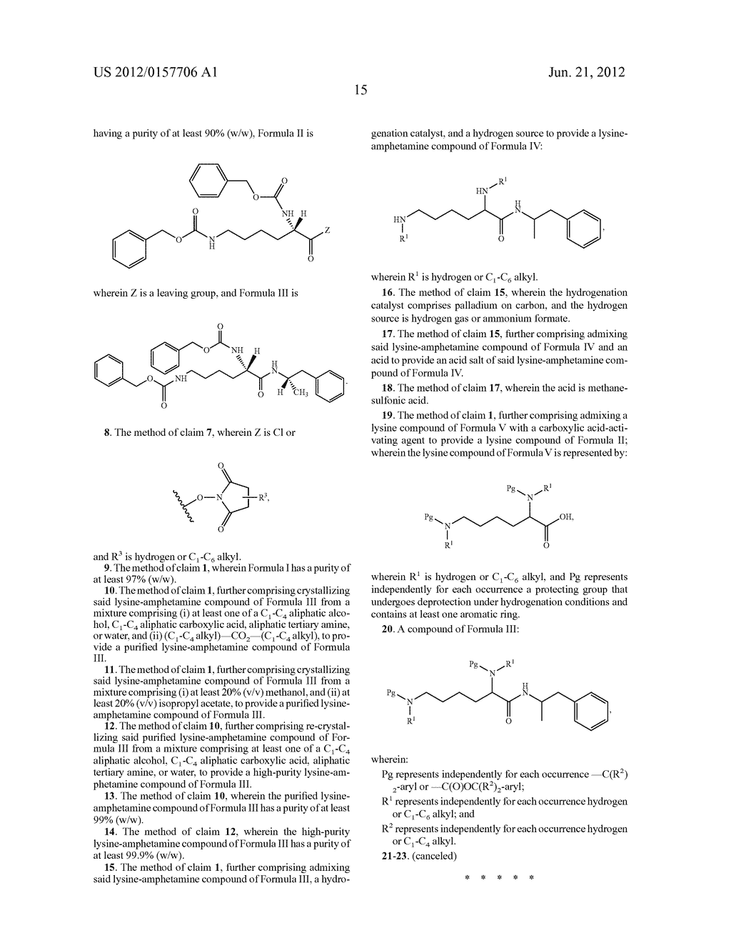 Methods and Compositions for Preparing Lisdexamfetamine and Salts Thereof - diagram, schematic, and image 16