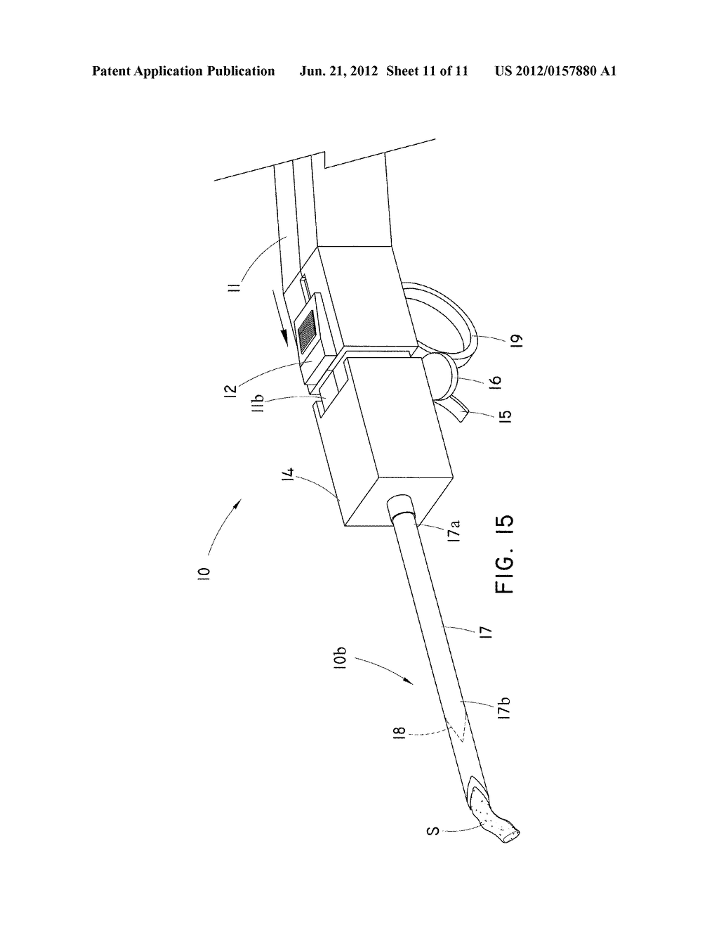 CORING TISSUE BIOPSY NEEDLE AND METHOD OF USE - diagram, schematic, and image 12