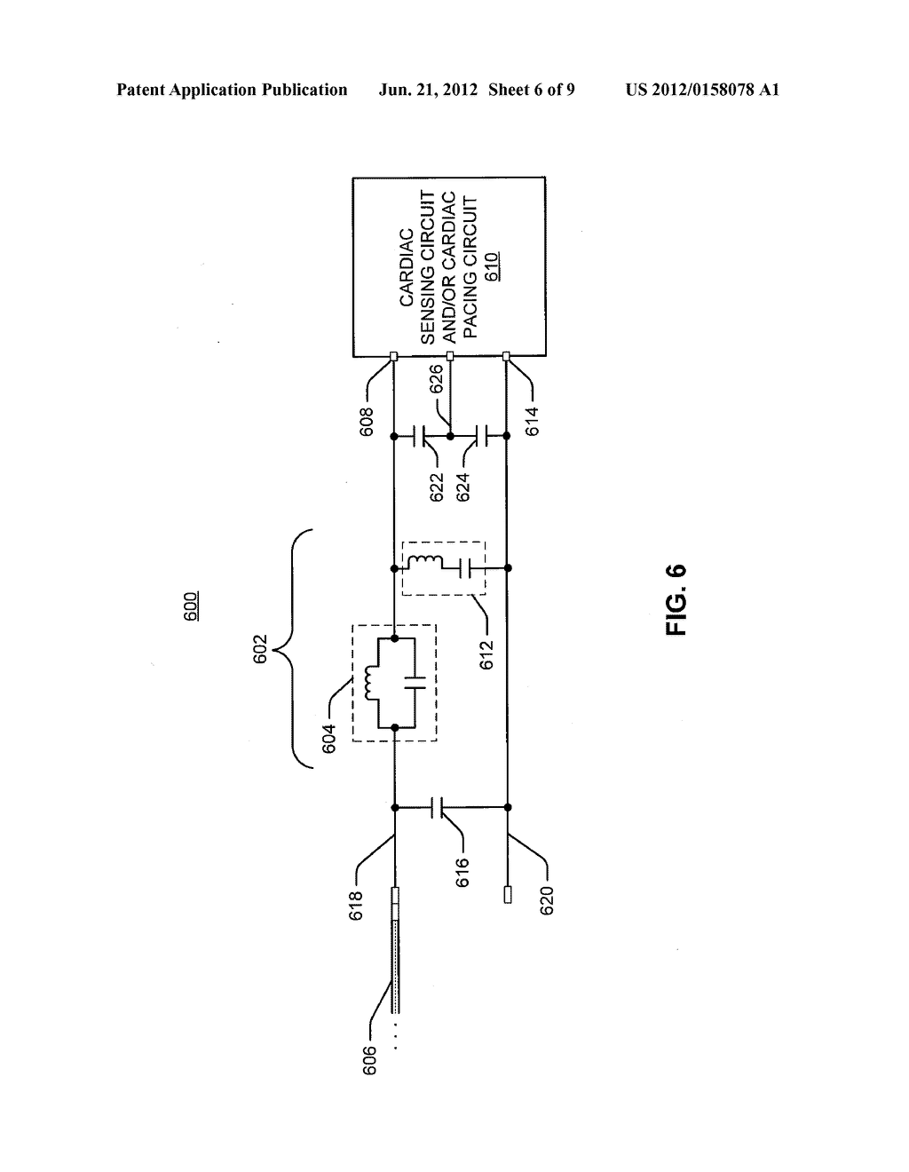 Implantable Medical Device Voltage Divider Circuit For Mitigating A Diagram Of An Electromagnet Electromagnetic Interference Schematic And Image 07