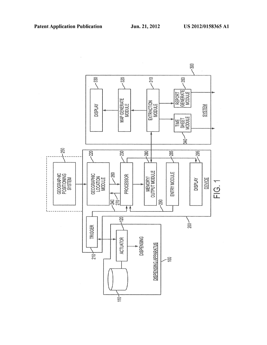 DEVICE AND METHOD FOR MONITORING EVENTS OVER A GEOGRAPHIC AREA - diagram, schematic, and image 02