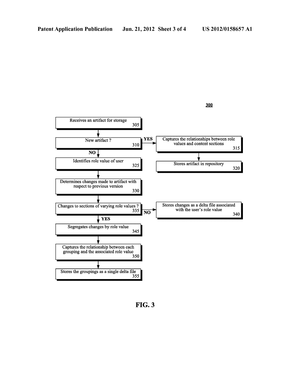 ROLE-SPECIFIC ACCESS CONTROL TO SECTIONS OF ARTIFACT CONTENT WITHIN A     CONFIGURATION MANAGEMENT (CM) SYSTEM - diagram, schematic, and image 04