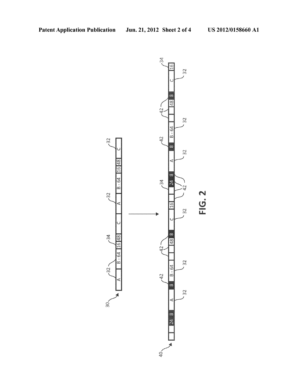 METHOD AND SYSTEM FOR DEDUPLICATING DATA - diagram, schematic, and image 03