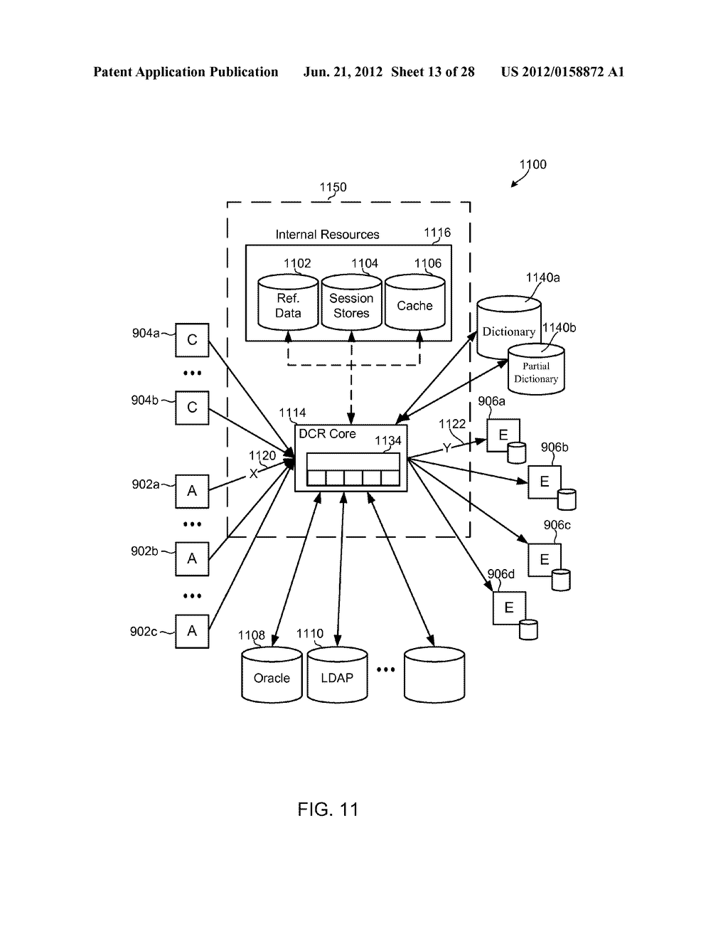 METHODS, SYSTEMS AND DEVICES FOR HORIZONTALLY SCALABLE HIGH-AVAILABILITY     DYNAMIC CONTEXT-BASED ROUTING - diagram, schematic, and image 14