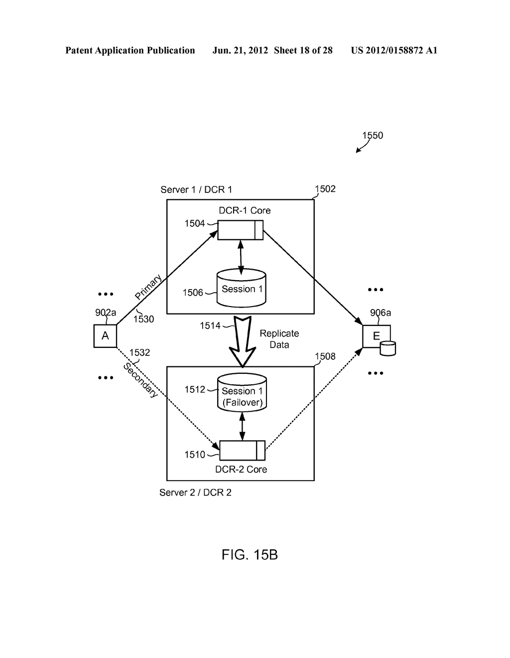 METHODS, SYSTEMS AND DEVICES FOR HORIZONTALLY SCALABLE HIGH-AVAILABILITY     DYNAMIC CONTEXT-BASED ROUTING - diagram, schematic, and image 19