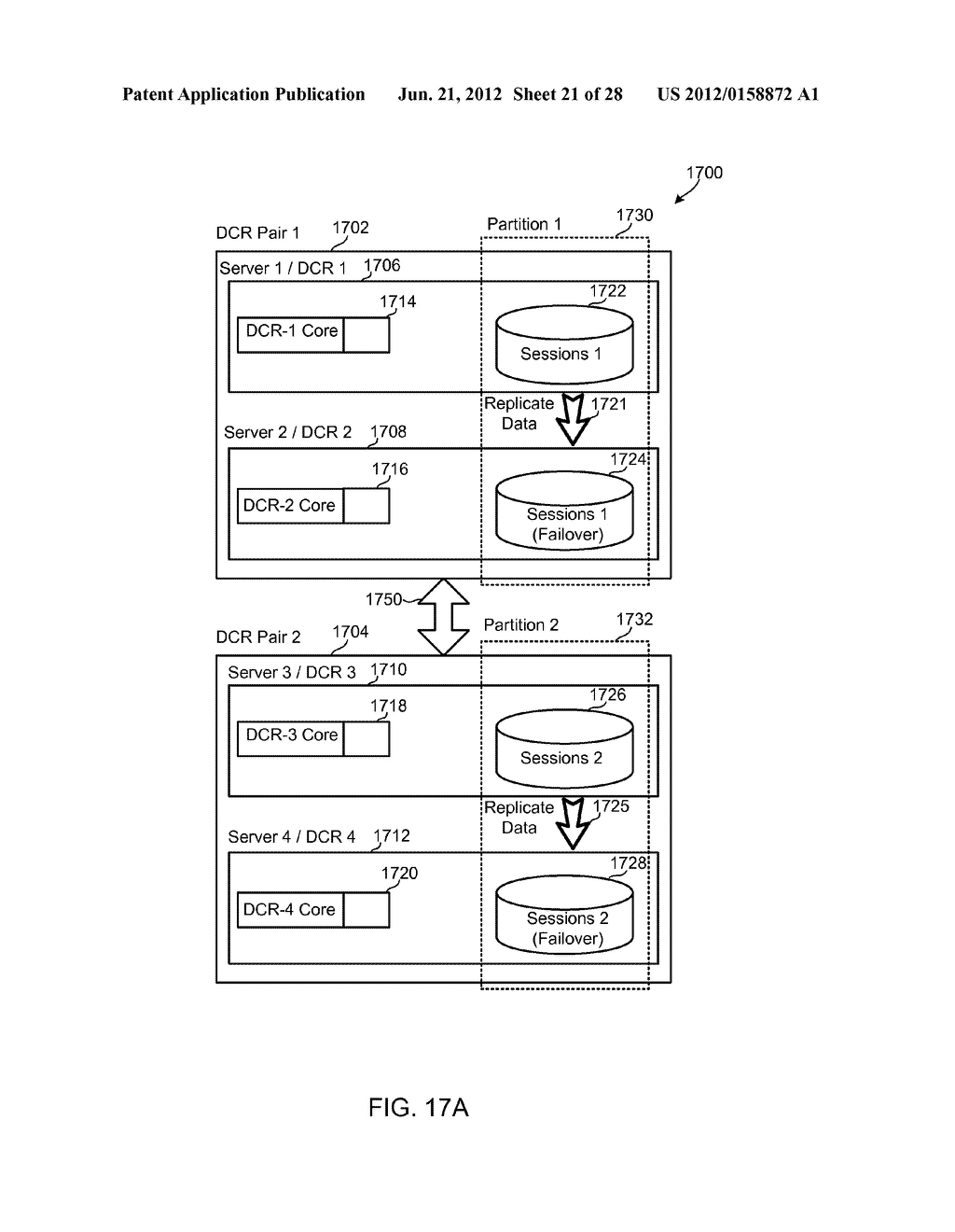 METHODS, SYSTEMS AND DEVICES FOR HORIZONTALLY SCALABLE HIGH-AVAILABILITY     DYNAMIC CONTEXT-BASED ROUTING - diagram, schematic, and image 22